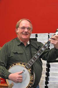 Photo: Jerry banjo.