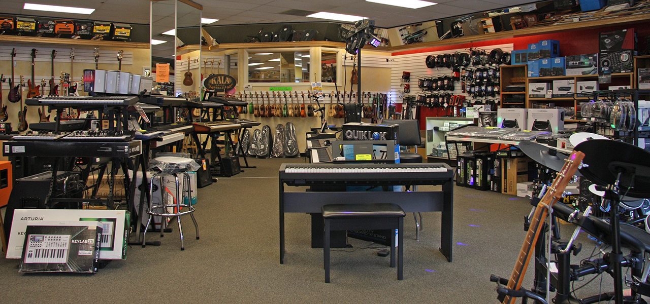 Photo of our new showroom floor.